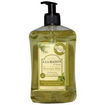 A La Maison de Provence, Hand&Body Soap, Rosemary Mint 500ml