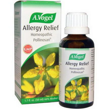 A Vogel, Allergy Relief, Homeopathic Pollinosan 50ml