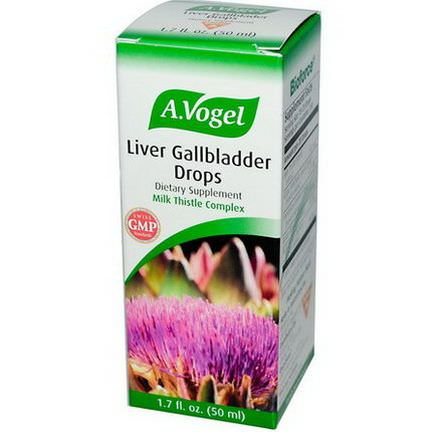 A Vogel, Liver Gallbladder Drops 50ml