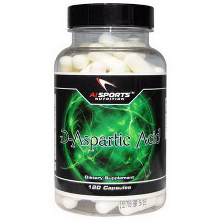 AI Sports Nutrition Anabolic Innovations, D-Aspartic Acid, 120 Capsules
