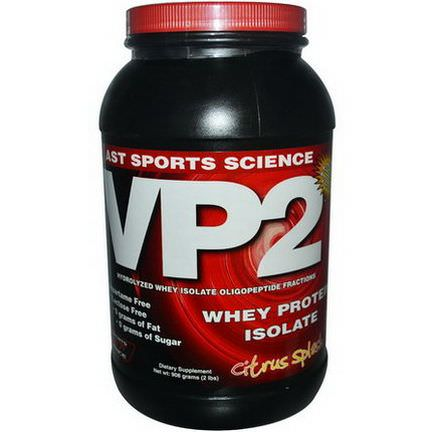 AST Sports Science, VP2, Whey Protein Isolate, Citrus Splash 908g
