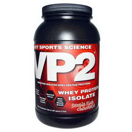 AST Sports Science, VP2, Whey Protein Isolate, Double Rich Chocolate 907g