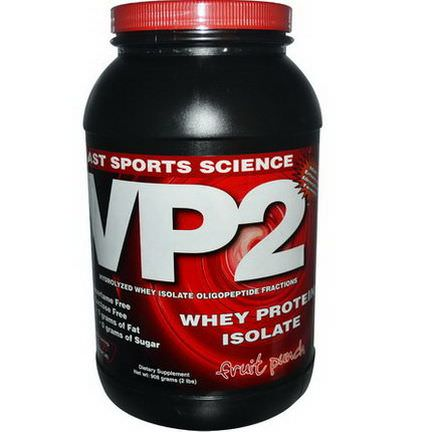 AST Sports Science, VP2, Whey Protein Isolate, Fruit Punch 908g