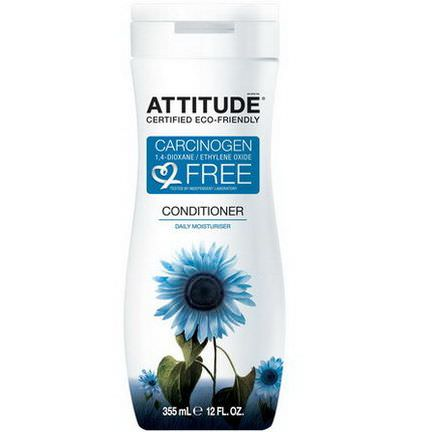 ATTITUDE, Conditioner, Daily Moisturizer 355ml