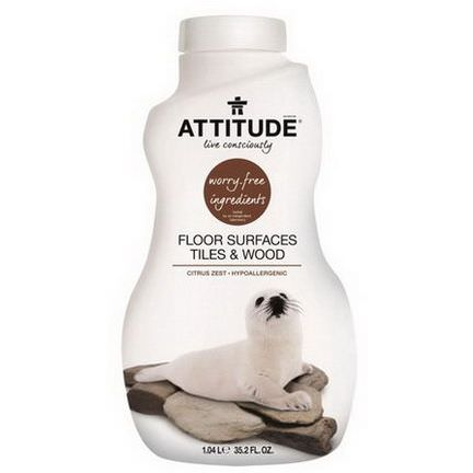 ATTITUDE, Floor Surfaces Tiles&Wood, Citrus Zest 1.04 L