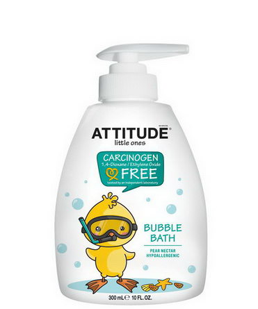 ATTITUDE, Little Ones, Bubble Bath, Pear Nectar 300ml