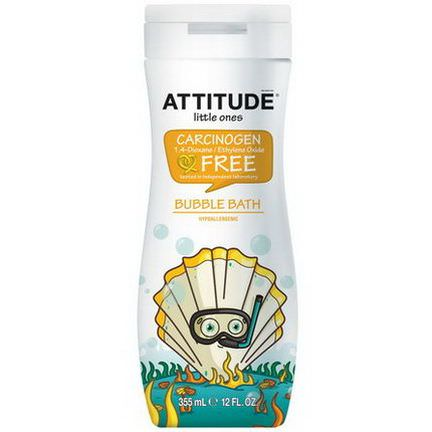 ATTITUDE, Little Ones, Eco-Kids, Bubble Bath 355ml