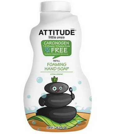 ATTITUDE, Little Ones, Foaming Hand Soap, Refill 1.04 l