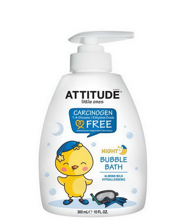 ATTITUDE, Little Ones, Night Bubble Bath, Almond Milk 300ml