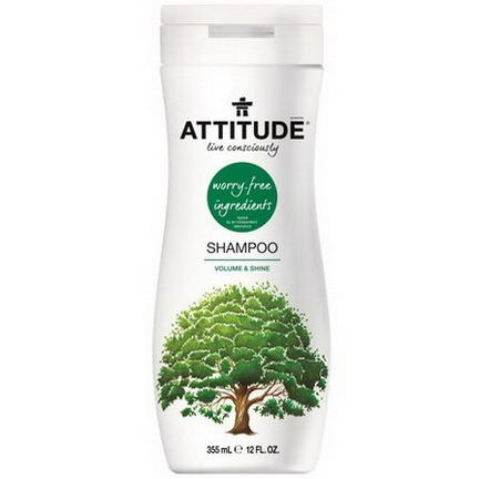 ATTITUDE, Shampoo, Volume&Shine 355ml