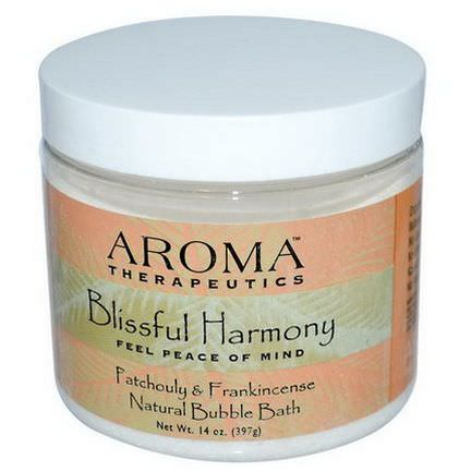 Abra Therapeutics, Natural Bubble Bath, Blissful Harmony, Patchouli&Frankincense 397g