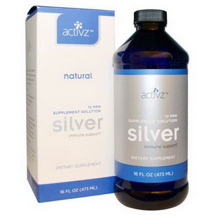 Activz, Silver Immune Support, 12 PPM 473ml