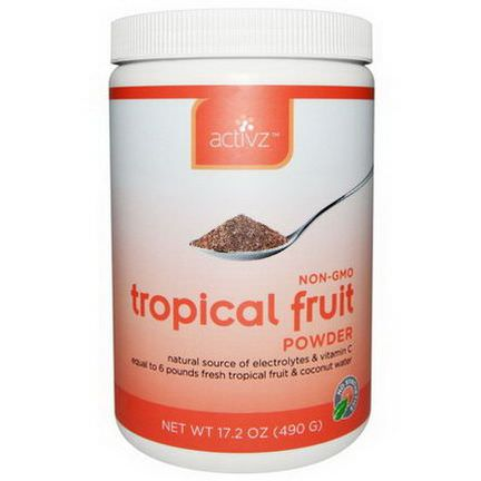 Activz, Tropical Fruit Powder 490g