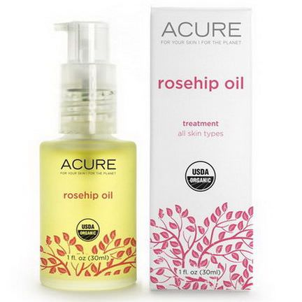 Acure Organics, Rosehip Oil, Treatment 30ml
