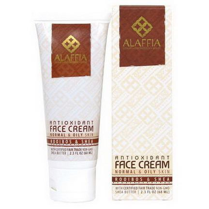 Alaffia, Antioxidant Face Cream, Rooibos&Shea 68ml