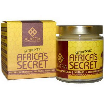 Alaffia, Authentic Africa's Secret, Multipurpose Skin Cream 118ml