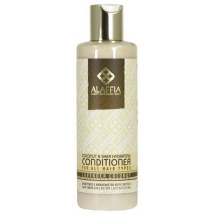 Alaffia, Coconut&Shea Daily Hydrating Conditioner, Lavender Coconut 235ml