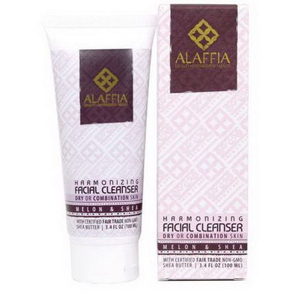 Alaffia, Harmonizing Facial Cleanser, Melon&Shea 100ml