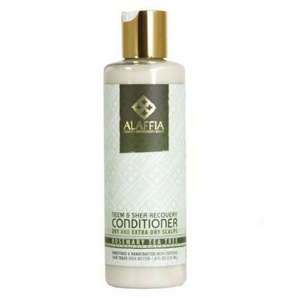 Alaffia, Neem&Shea Recovery Conditioner, Rosemary Tea Tree 235ml