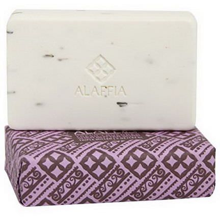 Alaffia, Triple Milled Shea Butter Soap, Fresh Lavender 142g