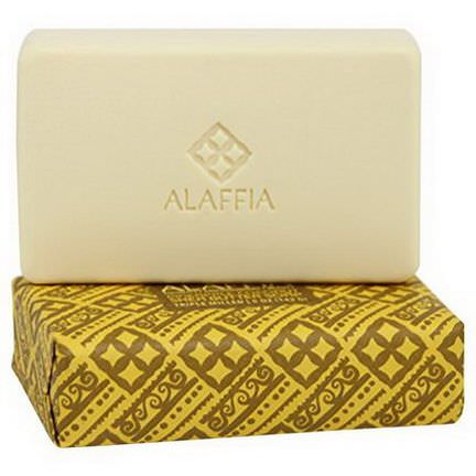 Alaffia, Triple Milled Shea Butter Soap, Pineapple Coconut 142g