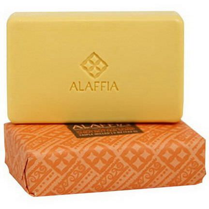 Alaffia, Triple Milled Shea Butter Soap, Sandalwood Ylang Ylang 142g