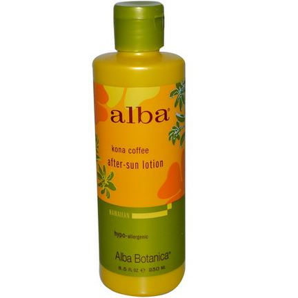 Alba Botanica, After-Sun-Lotion, Kona Coffee 250ml