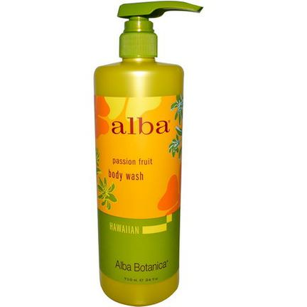 Alba Botanica, Body Wash, Passion Fruit 710ml