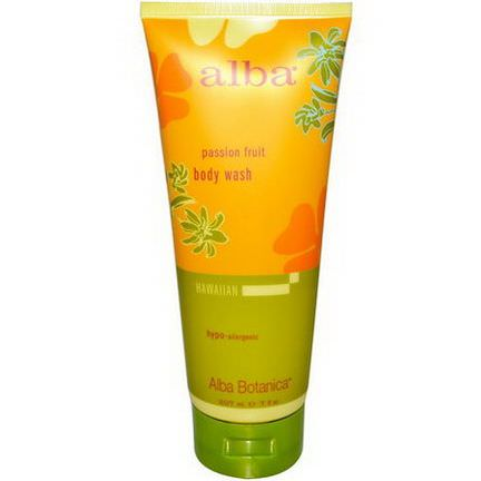 Alba Botanica, Body Wash, Passion Fruit 207ml