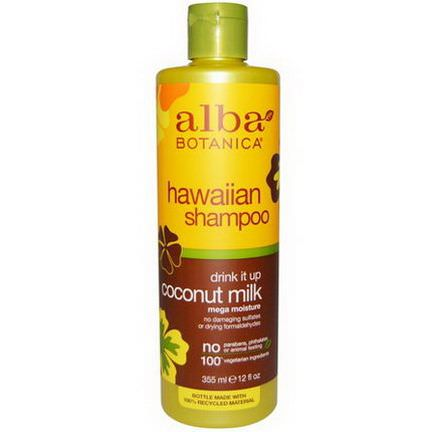 Alba Botanica, Drink it Up Coconut Milk Shampoo 355ml
