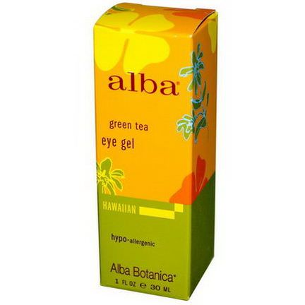 Alba Botanica, Green Tea Eye Gel 30ml