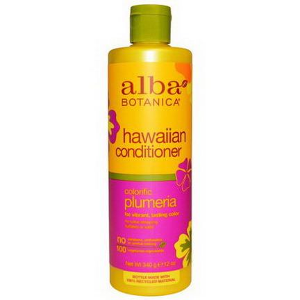 Alba Botanica, Hawaiian Conditioner, Colorific Plumeria 340g