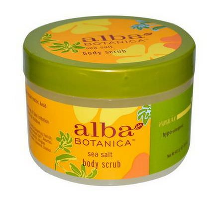 Alba Botanica, Sea Salt Body Scrub 411g