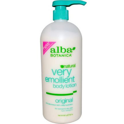 Alba Botanica, Very Emollient Body Lotion, Original 907g
