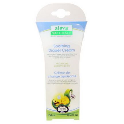 Aleva Naturals, Soothing Diaper Cream 100ml