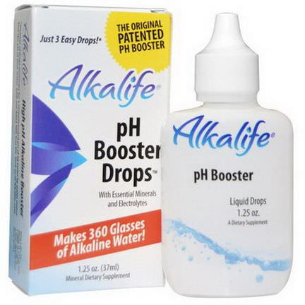 Alkalife, pH Booster Drops 37ml