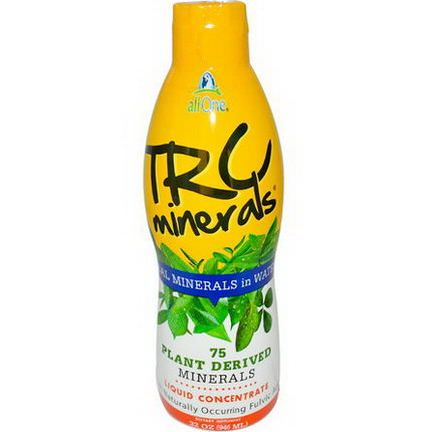 All One, Nutritech, TRC Minerals, Liquid Concentrate 946ml