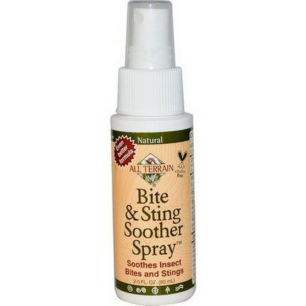 All Terrain, Bite&Sting Soother Spray 60ml