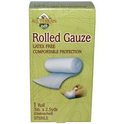All Terrain, Rolled Gauze, 1 Roll Unstreched