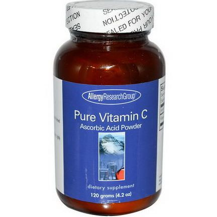 Allergy Research Group, Pure Vitamin C Powder 120g