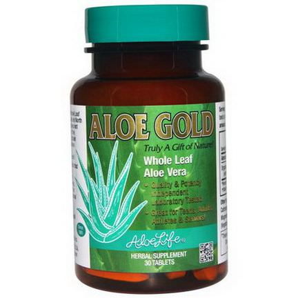Aloe Life International, Inc, Aloe Gold, 30 Tablets