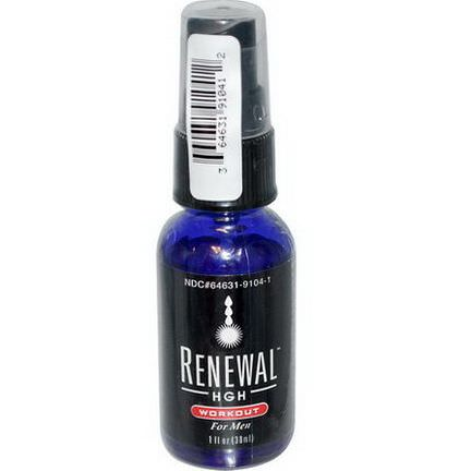 Always Young, Renewal HGH, Workout, for Men 30ml