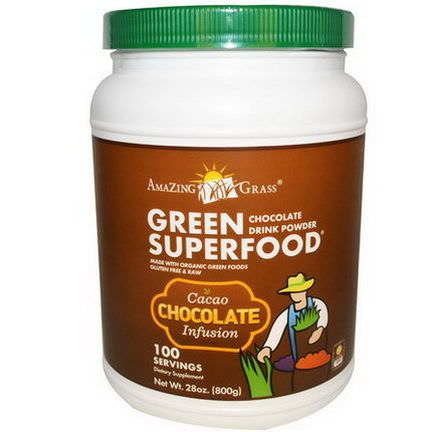 Amazing Grass, Green SuperFood, Chocolate Drink Powder 800g