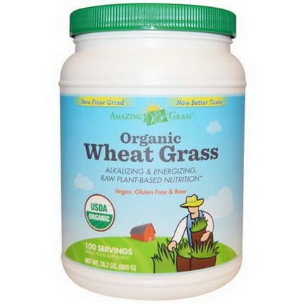 Amazing Grass, Organic Wheat Grass 800g