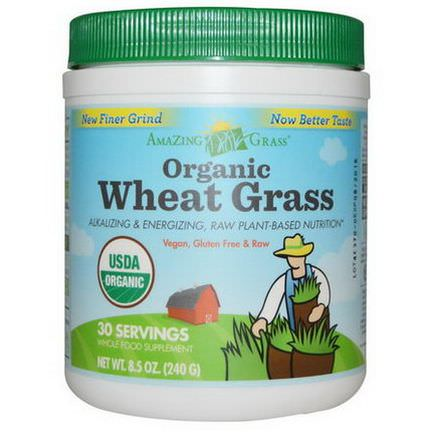 Amazing Grass, Organic Wheat Grass 240g