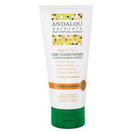 Andalou Naturals, Argan Oil Plus Deep Conditioner, Ultimate Moisture 172ml