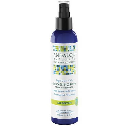 Andalou Naturals, Argan Stem Cells Thickening Spray 178ml