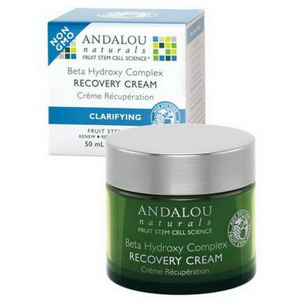 Andalou Naturals, Beta Hydroxy Complex Recovery Cream, Clarifying 50ml