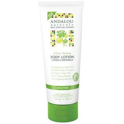 Andalou Naturals, Body Lotion, Citrus Verbena, Uplifting 236ml