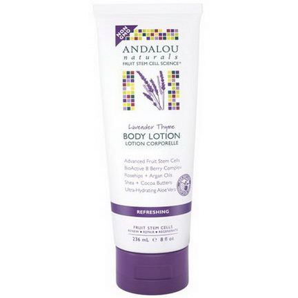 Andalou Naturals, Body Lotion, Refreshing, Lavender Thyme 236ml